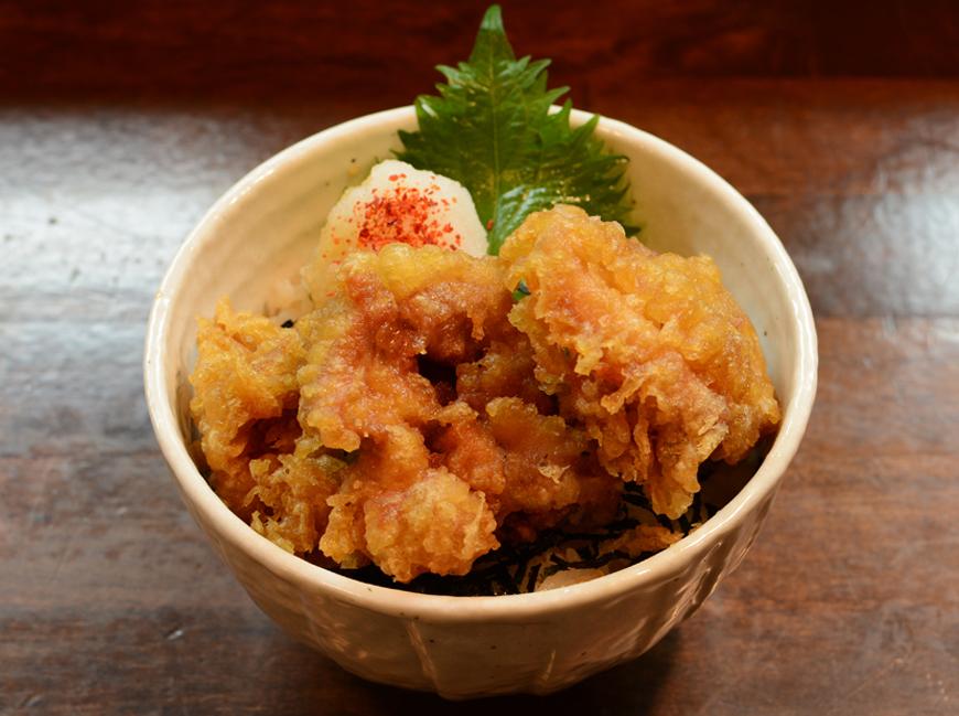 とり天丼(夜間限定)…400円